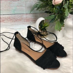 Lucky Brand Gelso Ankle Lace Sandal. NWOT Size 7